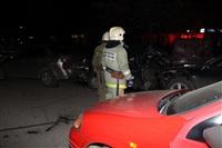 В Туле пьяный на Audi протаранил пять автомобилей, Фото: 1