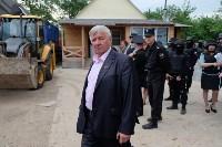 В Плеханово начали сносить дома в цыганском таборе, Фото: 40