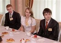Владимир Груздев встретился со школьниками Тульской области, Фото: 5