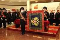 В Туле прошла церемония крепления к древку полотнища знамени регионального УМВД, Фото: 15
