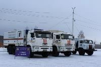 На федеральных трассах в Тульской области МЧС развернуло 10 пунктов обогрева, Фото: 5