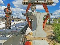 Восточный обвод: Строительство моста через Упу, Фото: 14