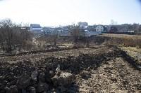Туляк засыпал ручей, 12 колодцев и 4 канализационных люка, самовольно строя дорогу, Фото: 6