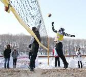 III ежегодный турнир по пляжному волейболу на снегу., Фото: 49