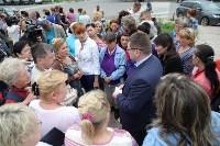 Мини-бунт перед сносом торговых павильонов на Фрунзе. 23.06.2015, Фото: 27