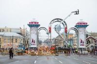 Установка новогодней арки, Фото: 19