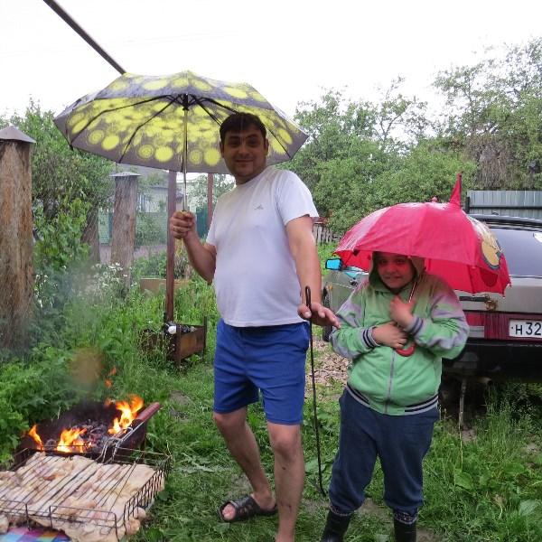 Жгем и зажигаем)))и даже дождь нам не помеха!!!