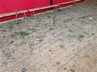 Ураган в Ефремове: шифер и стекла летали как пули, Фото: 8