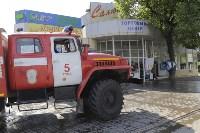 """На ул.9 Мая сгорел рынок """"Салют"""", Фото: 11"""