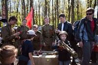 В Центральном парке воссоздали боевой подвиг советских солдат, Фото: 23