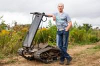 Туляк Виталий Галеев придумал сегвей на гусеницах, Фото: 10