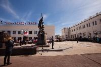 Открытие монумента и бронепоезда на Московском вокзале. 8 мая 2015 года, Фото: 18