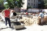 Груздев инспектирует строительство бассейна на Гоголевской. 3.08.2015, Фото: 3