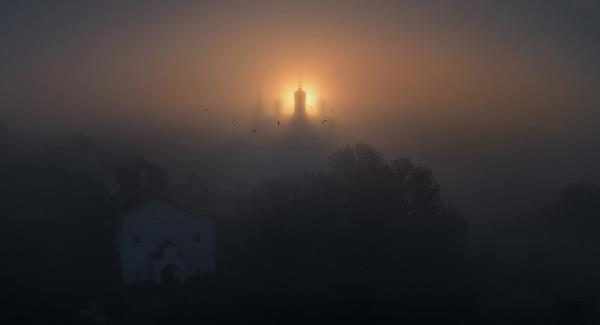 Рассвет над Анастасовым монастырем