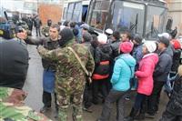В ходе зачистки на Центральном рынке Тулы задержаны 350 человек, Фото: 31
