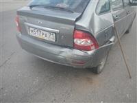 На Новомосковском шоссе столкнулись три автомобиля, Фото: 8