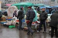 Стихийный рынок на ул. Пузакова, Фото: 5
