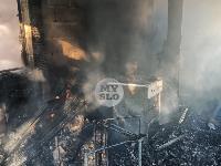 На ул. Баженова в Туле крупный пожар уничтожил жилой дом, Фото: 8