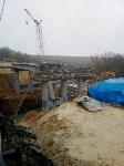 ЧП рухнул мост в Донском, Фото: 2
