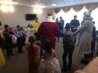 Для детей украинских переселенцев организовали новогоднюю праздничную программу, Фото: 2