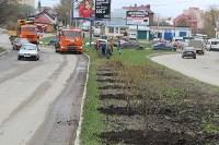 На ул. Вильямса высадили ивы, Фото: 1
