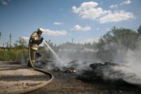 Пожар в гаражном кооперативе №17, Фото: 46