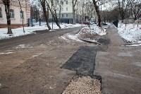 Провал дороги на ул. Софьи Перовской, Фото: 11