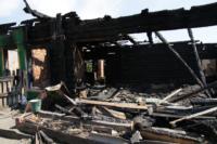 Сгоревший в Алексине дом, Фото: 1