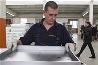 Губернатор посетил строящийся в Богородицке ФОК. 1 апреля 2014, Фото: 13