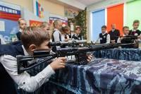 Показательные выступления ОМОН в тульской школе, Фото: 1