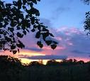 Закат в деревне Рублино