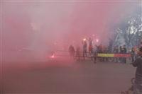 """Файер-шоу от болельщиков """"Арсенала"""". 16 мая 2014 года, Центральный парк, Фото: 4"""