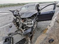 В серьезном ДТП на М-2 в Туле пострадали три человека, Фото: 7