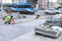 На ул. Советской меняют тротуарную плитку, Фото: 7