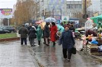 Стихийный рынок на ул. Пузакова, Фото: 8