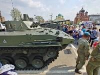 День Тульской дивизии ВДВ: на площади Ленина приземлились парашютисты, Фото: 104
