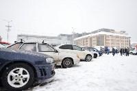 Автофлешмоб на площади Ленина в честь Дня памяти жертв ДТП, Фото: 3