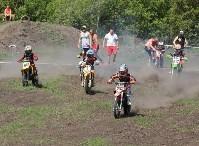 Юные мотоциклисты соревновались в мотокроссе в Новомосковске, Фото: 90