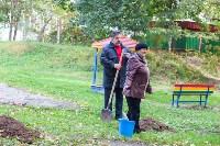 Тульская городская УК сажает деревья, Фото: 2