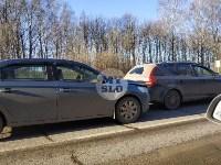 На автодороге «Тула — Новомосковск» столкнулись пять машин, Фото: 5