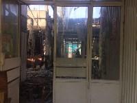 """На ул.9 Мая сгорел рынок """"Салют"""", Фото: 19"""