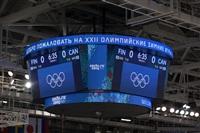 Женский хоккейный матч Канада-Финляндия. Зимняя Олимпиада в Сочи, Фото: 3