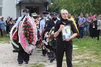 Жуткое ДТП в Суворове: проститься с погибшим полицейским пришли сотни человек, Фото: 6