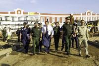 Осмотр стоящегося суворовского училища. 22 августа, Фото: 30