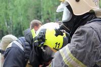 Учения МЧС: В Тульской областной больнице из-за пожара эвакуировали больных и персонал, Фото: 15