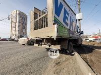 В Туле на Зеленстрое грузовик сбил пешехода, Фото: 4