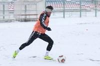 «Арсенал» готовится на снежном поле к игре против «Тосно», Фото: 22