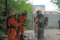 В Туле сотрудники МЧС эвакуировали госпитали госпиталь для больных коронавирусом, Фото: 53