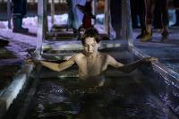 Крещенские купания в Центральном парке Тулы-2021, Фото: 142