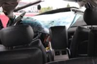 Возле поста ДПС в Плавске столкнулись три иномарки и фура, Фото: 18